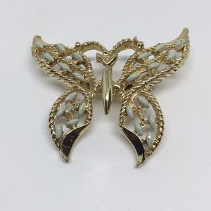 Beautiful butterfly brooch